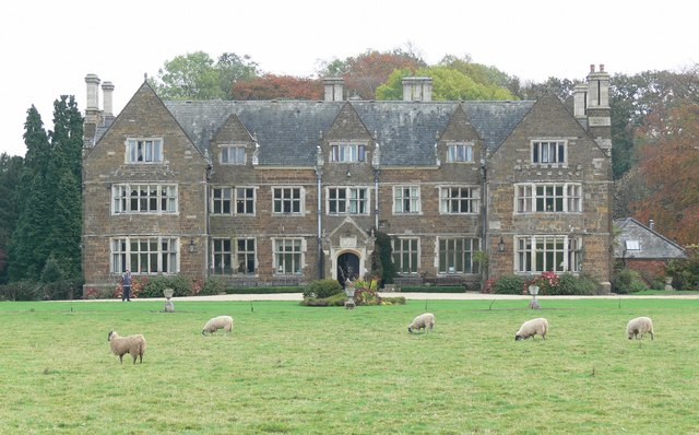 A View of Launde Abbey