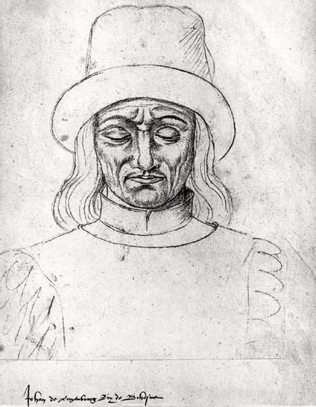 Jean de Luxembourg et de Bohême dit Jean l'Aveugle - par Jacques Le Boucq