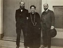 Leo, Gertrude, and Michael Stein