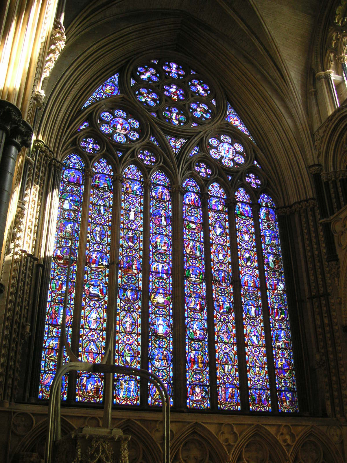 FileLincoln Cathedral East Window