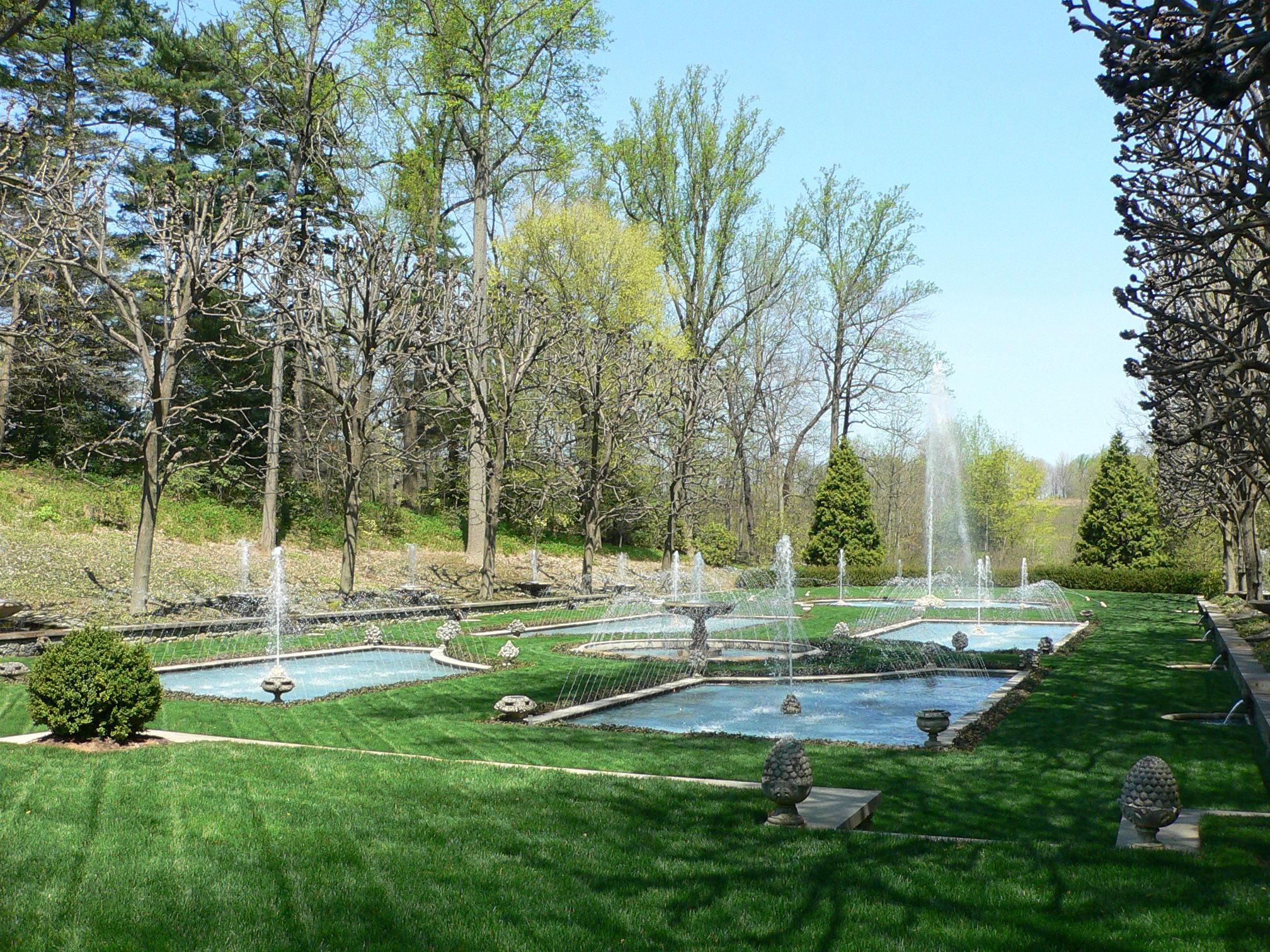File:Longwood Gardens Fountain Garden 2