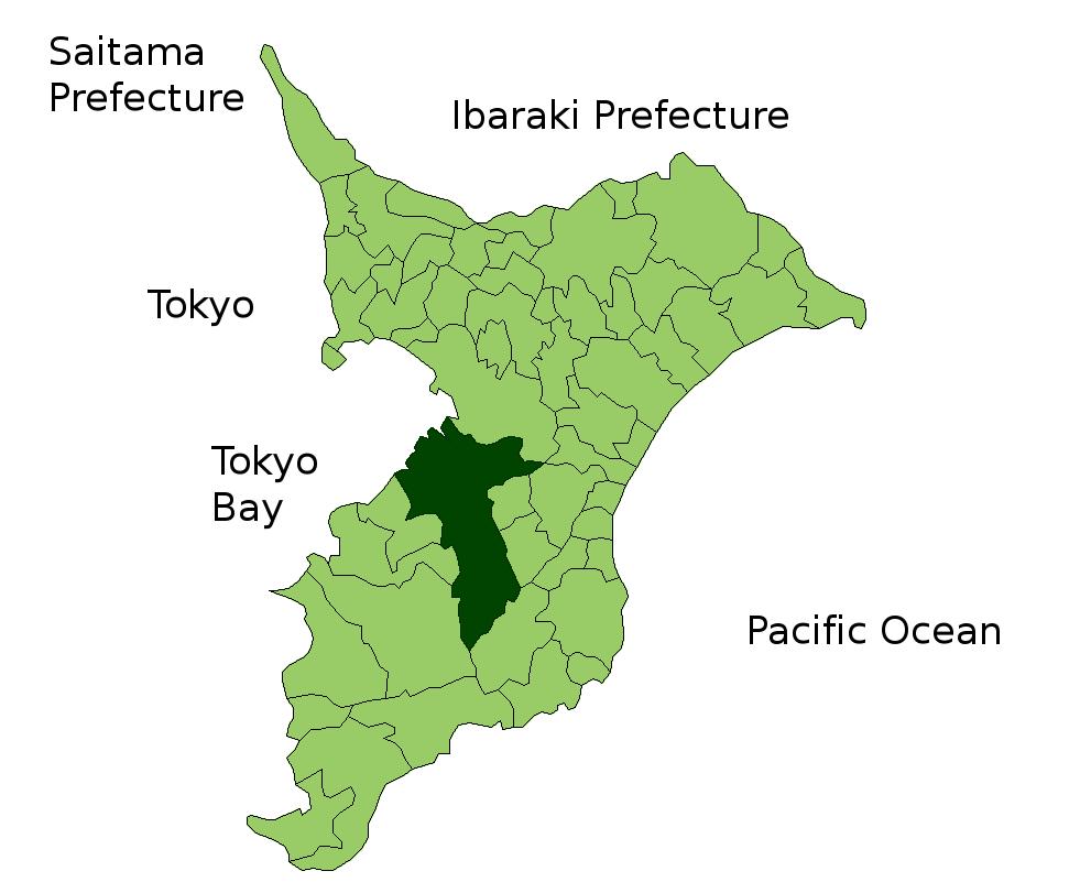 FileMap Ichihara Enpng Wikimedia Commons - Ichihara map