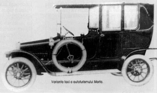 Magyar Automobil Részvény Társaság Arad Martatax