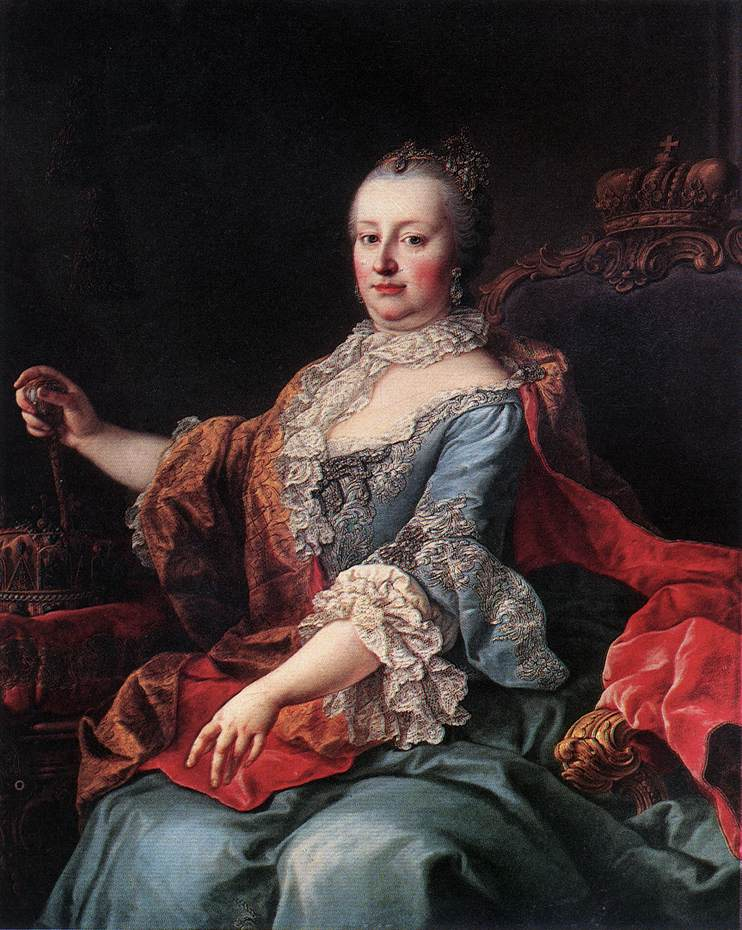Fichier:Martin van Meytens - Kaiserin Maria Theresia - WGA15119.jpg —  Wikipédia