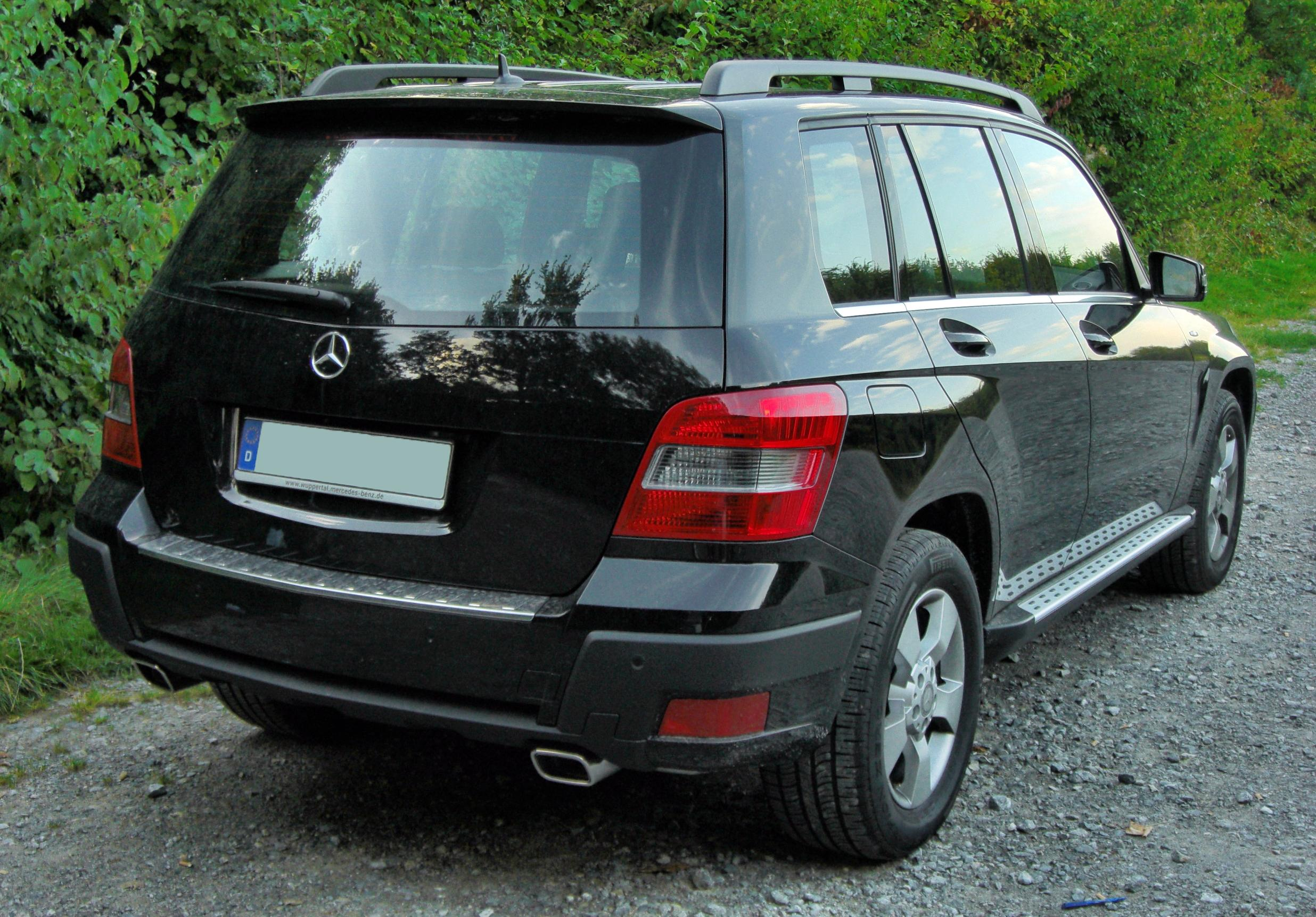 file mercedes glk 220 cdi blueefficiency 4matic offroad paket 20090821 rear jpg wikimedia commons. Black Bedroom Furniture Sets. Home Design Ideas