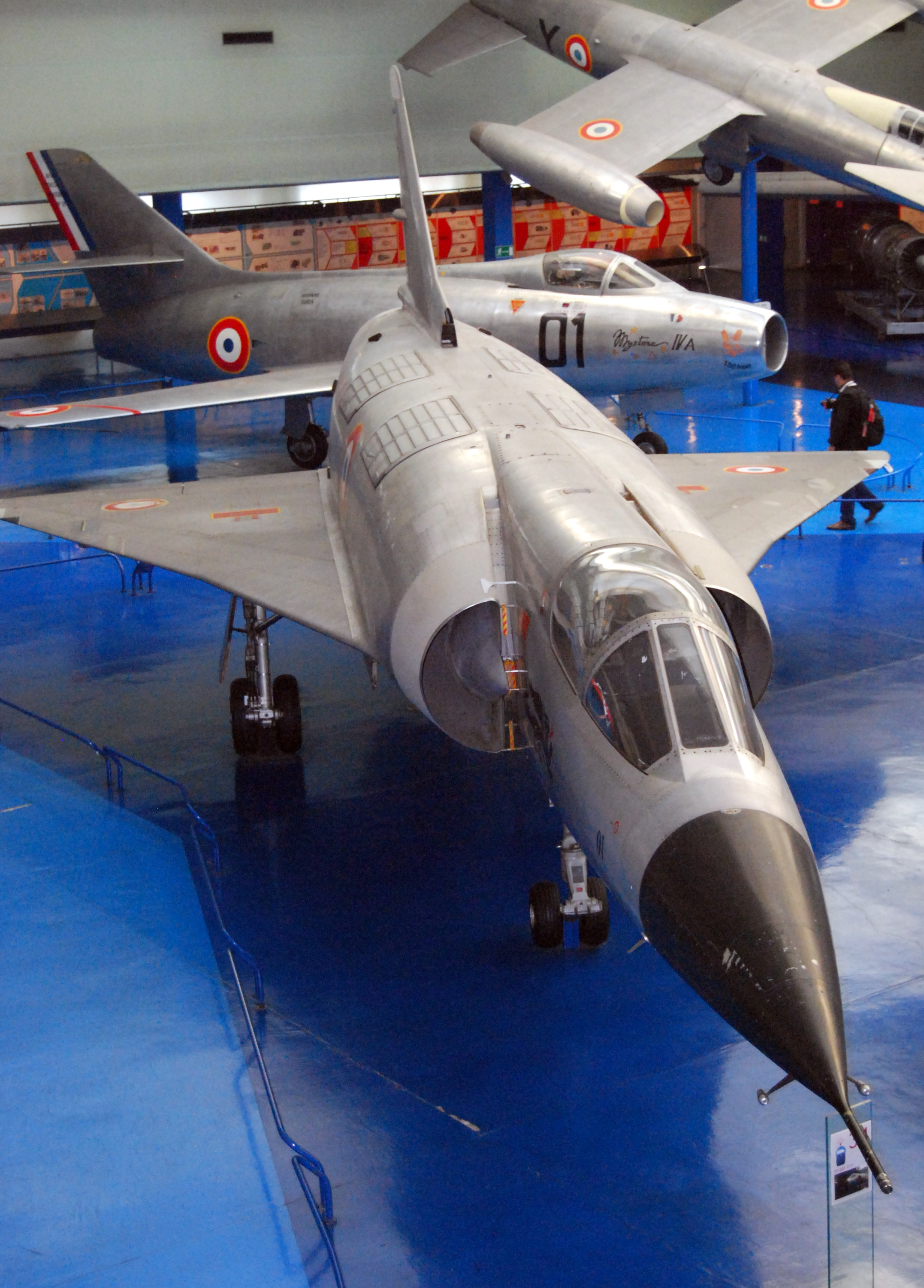 File mirage iiiv musee de l 39 air et de l 39 espace le for Bourget paris