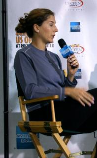 Seles interviewée (US Open – 2005)