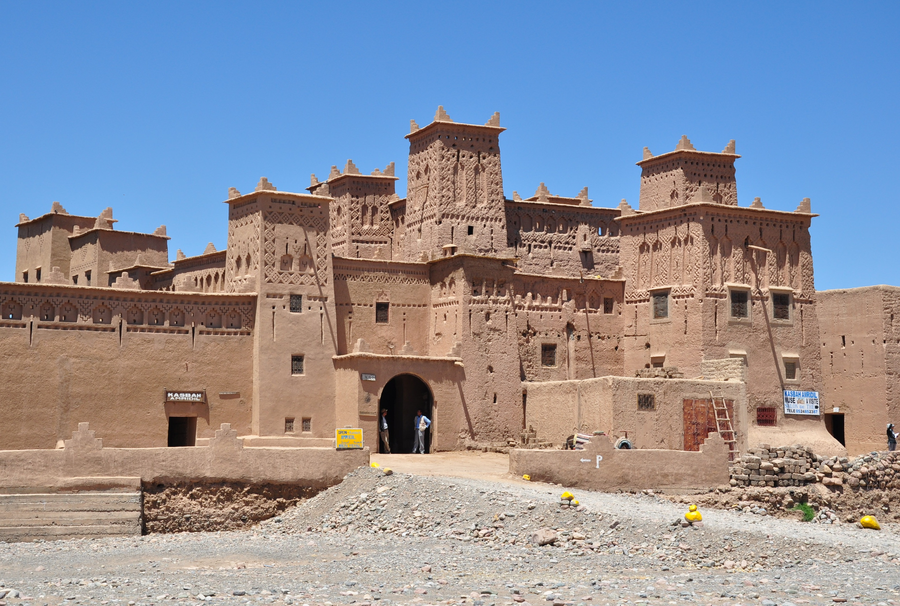 File morocco souss massa draa region ouarzazate province for Architecture marocaine