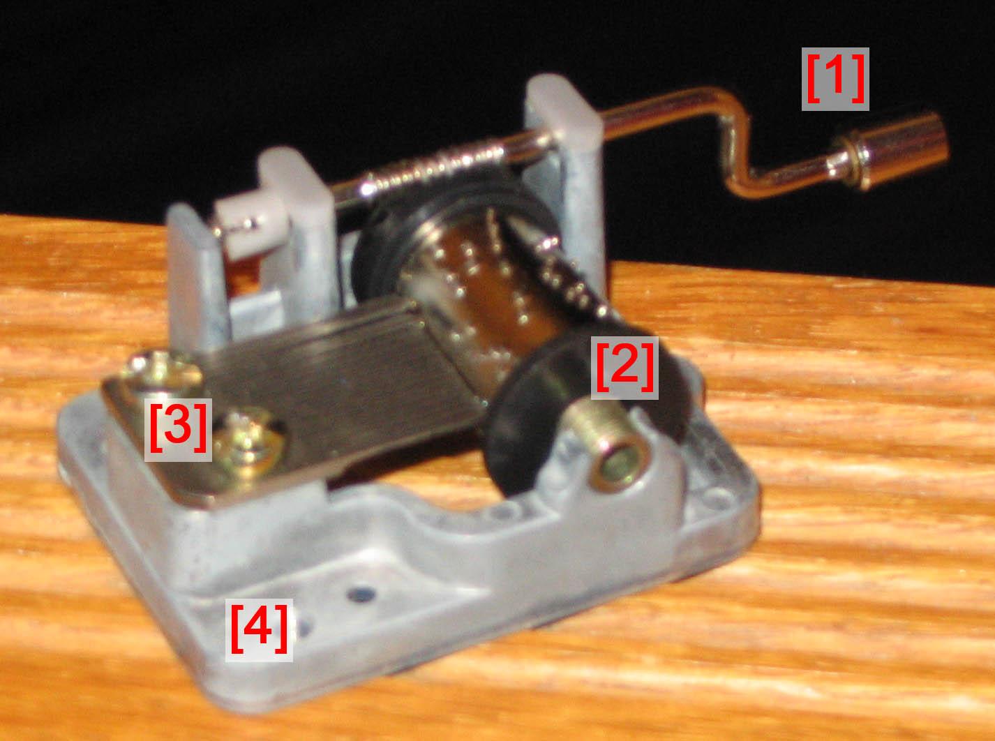 Музыкальная шкатулка механизм своими руками