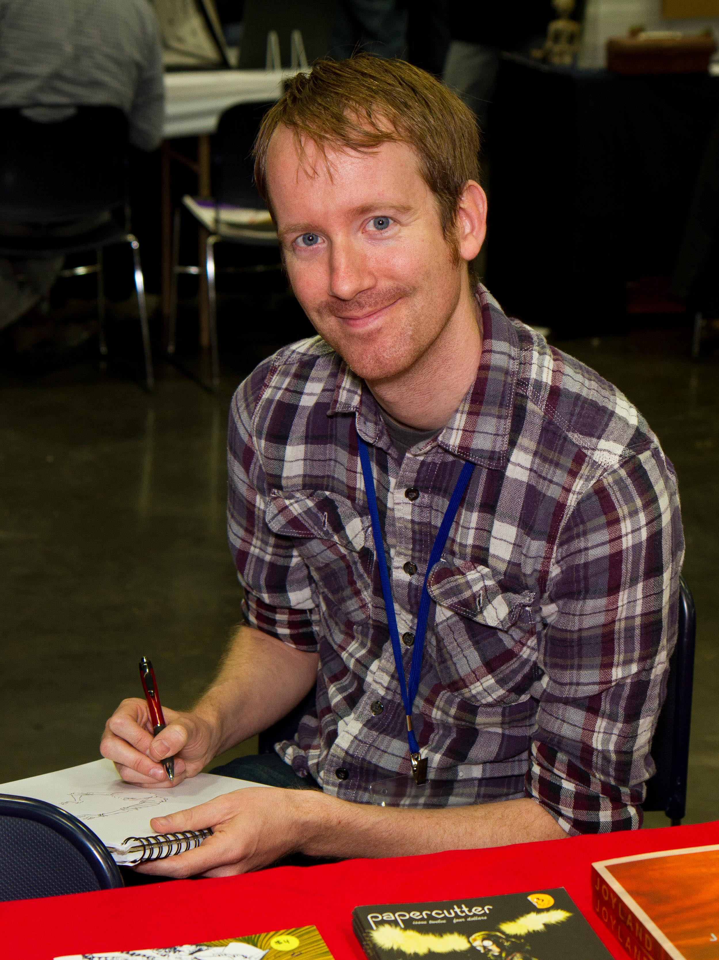 Powell at the 2012 [[Stumptown Comics Fest]]