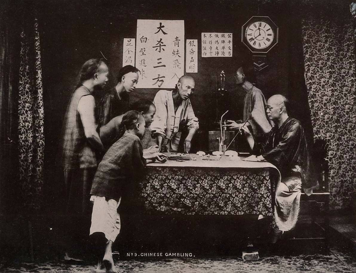 Chinese history gambling i gamble becau e i m lonely