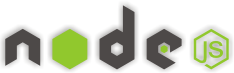 English: The logo of the Node.js Project from ...