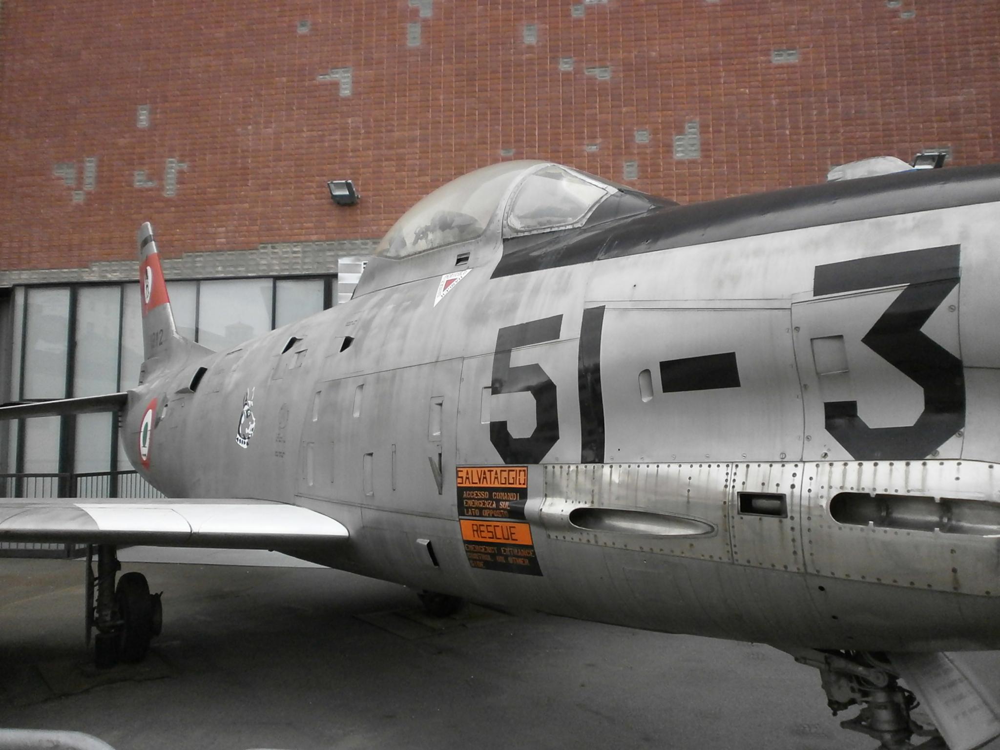 North_American_Fiat_F-86K_-_Museo_della_