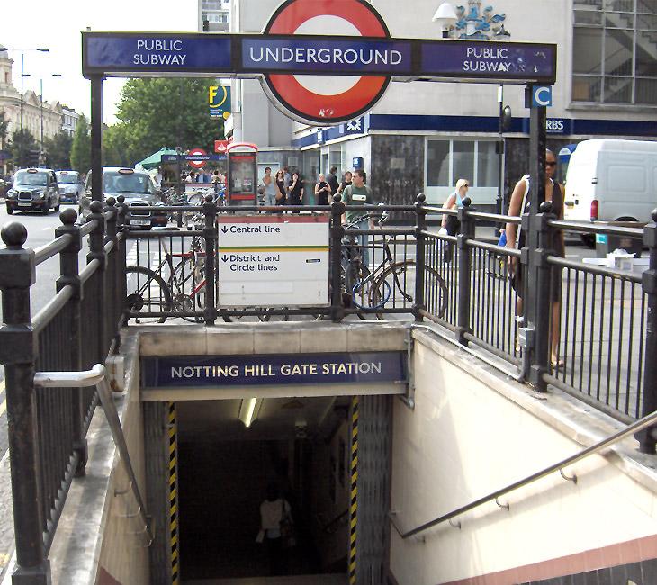 notting hill gate tube station wikipedia. Black Bedroom Furniture Sets. Home Design Ideas