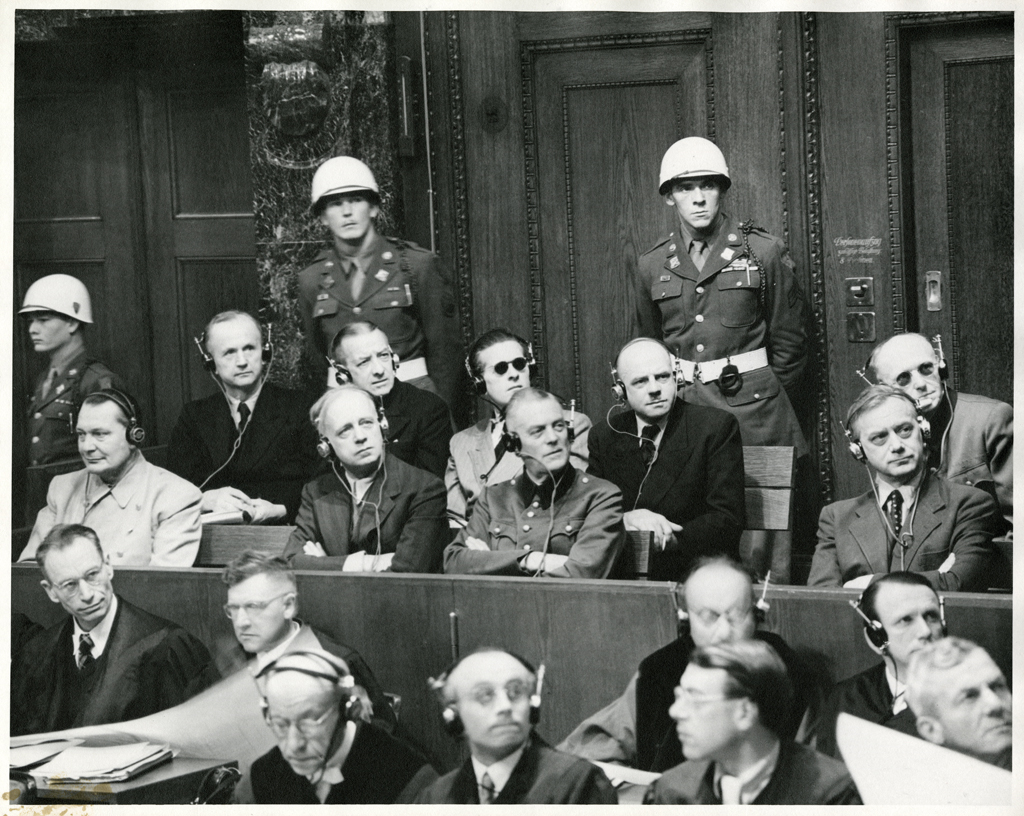 file nuremberg trials defendants in the dock jpeg file nuremberg trials defendants in the dock 1945 jpeg