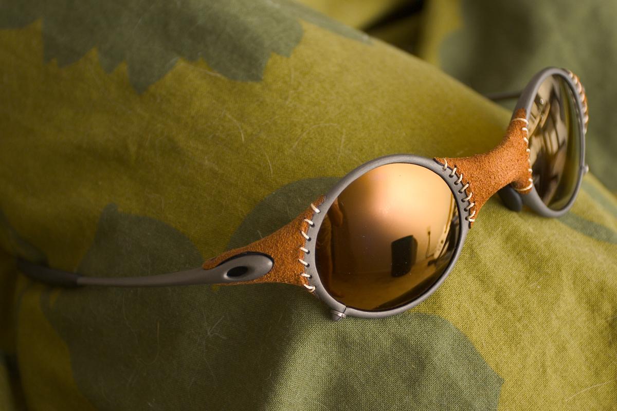 oakley juliet lente dourada