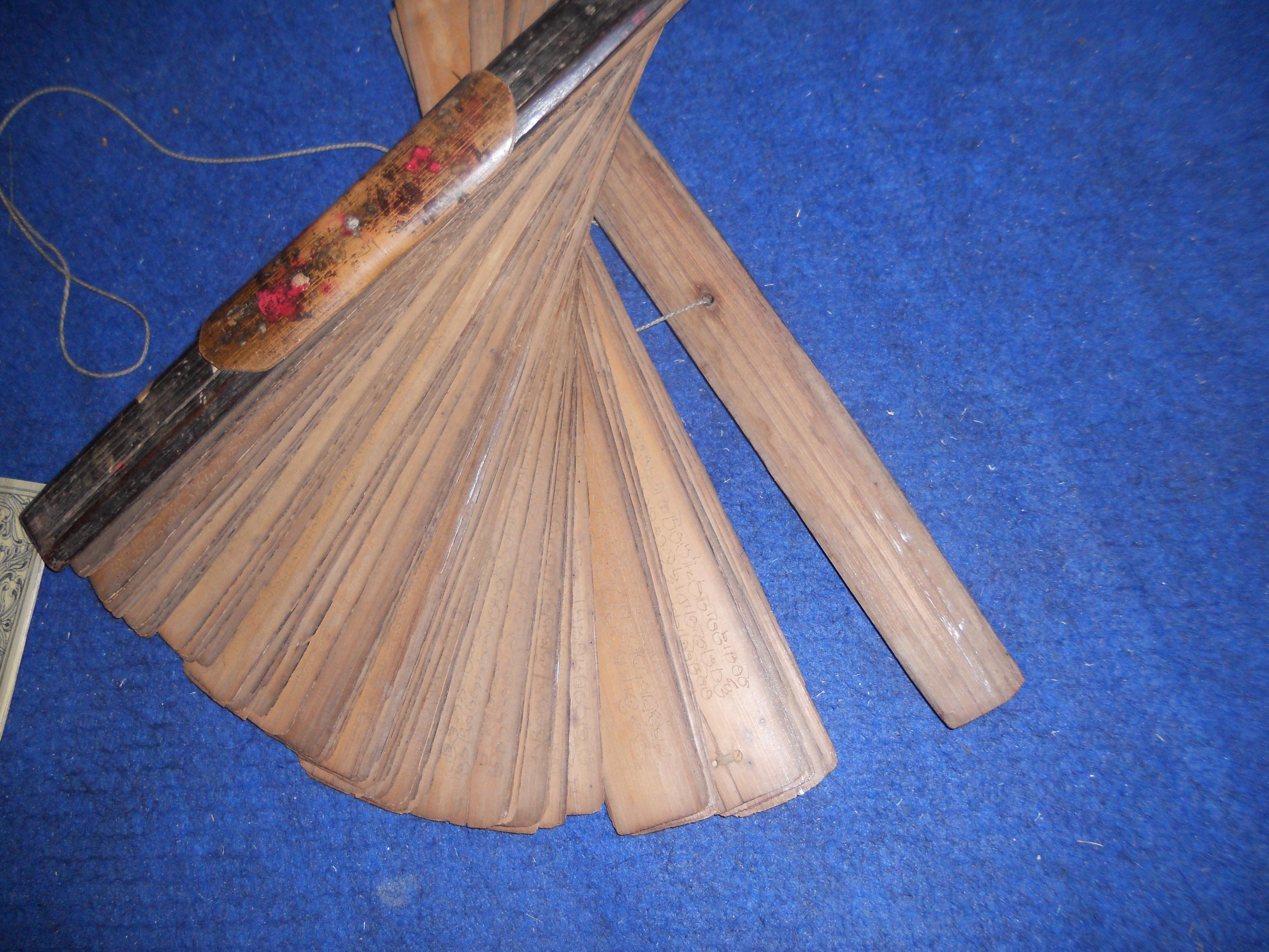 Palm-leaf manuscript - Wikipedia