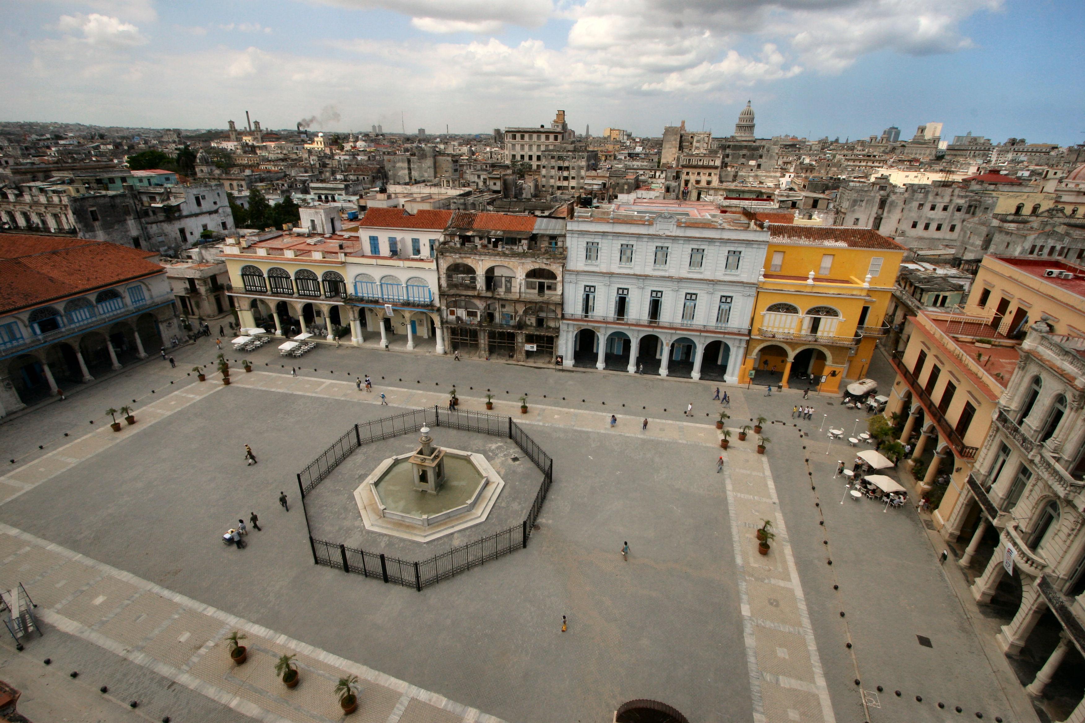 Staré náměstí v centru Havany
