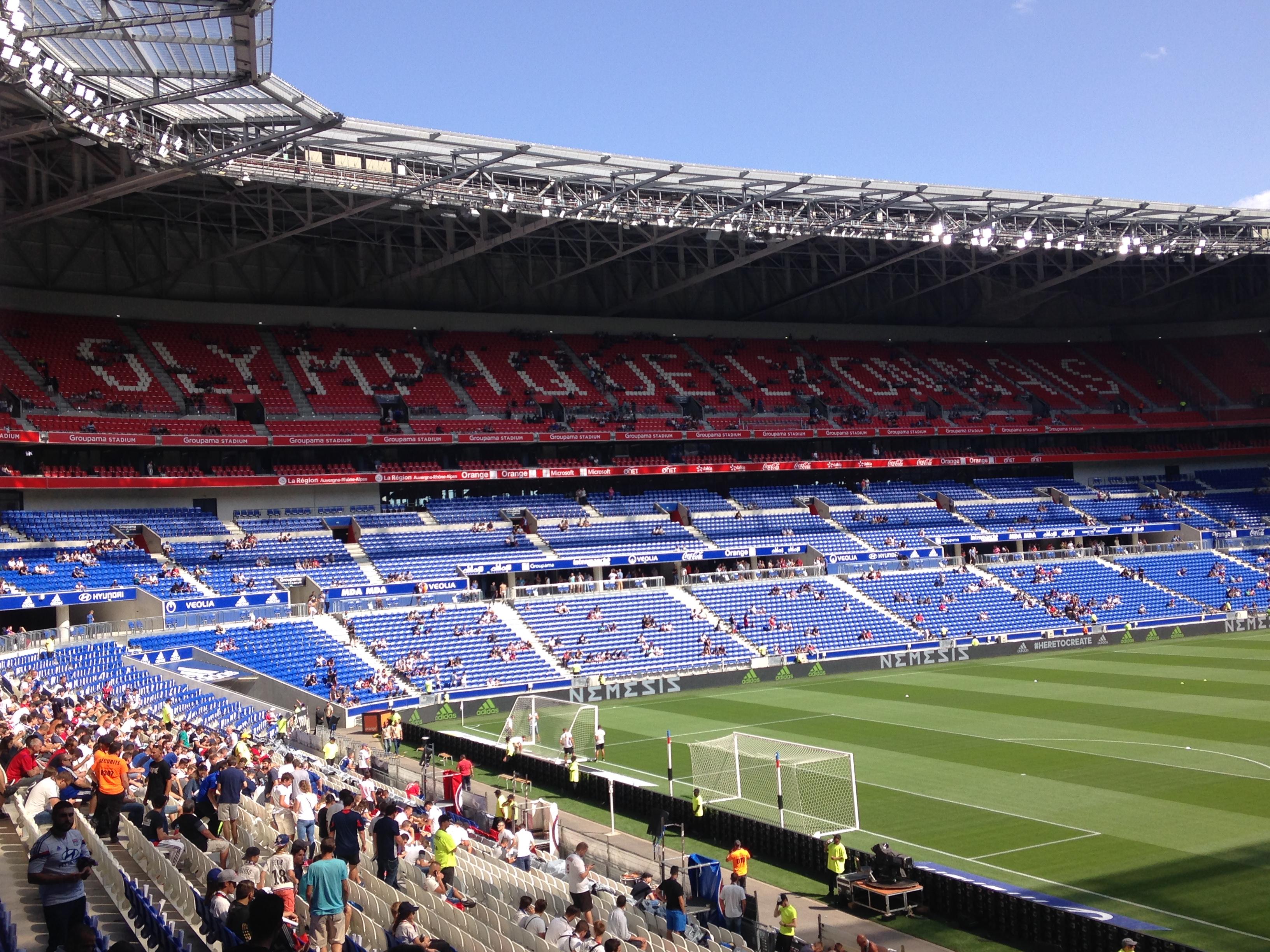 Resultado de imagen de Parc olympique Lyon