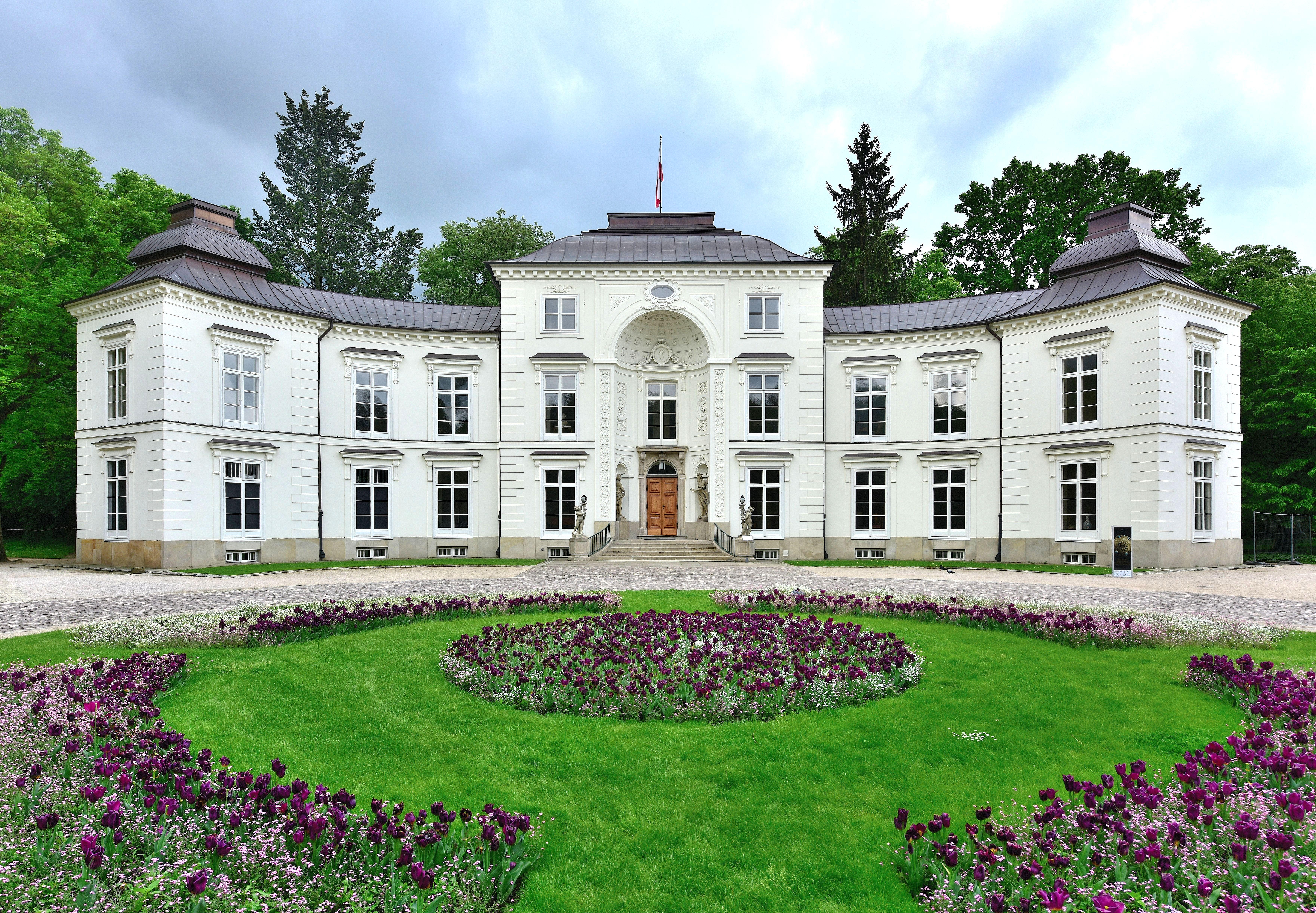 Pałac Myślewicki W Warszawie Wikipedia Wolna Encyklopedia