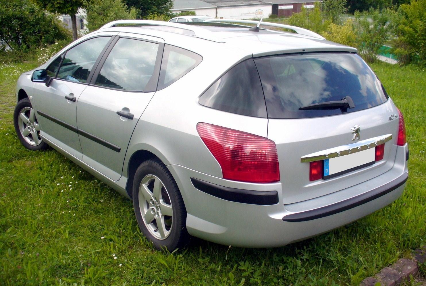 2003 peugeot 407 sw 3 0 related infomation specifications. Black Bedroom Furniture Sets. Home Design Ideas