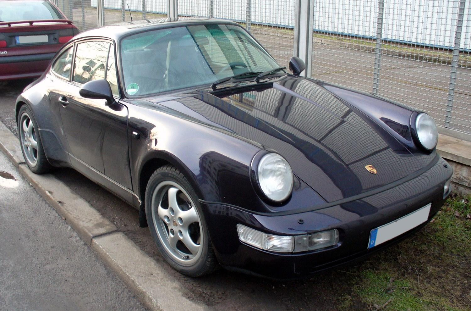 File Porsche 964 Carrera Jpg Wikimedia Commons