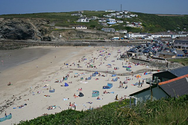 File:Portreath Beach - geograph.org.uk - 189848.jpg