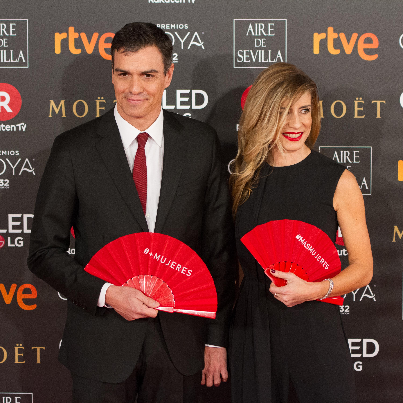Risultato immagini per wife of spanish premier sanchez
