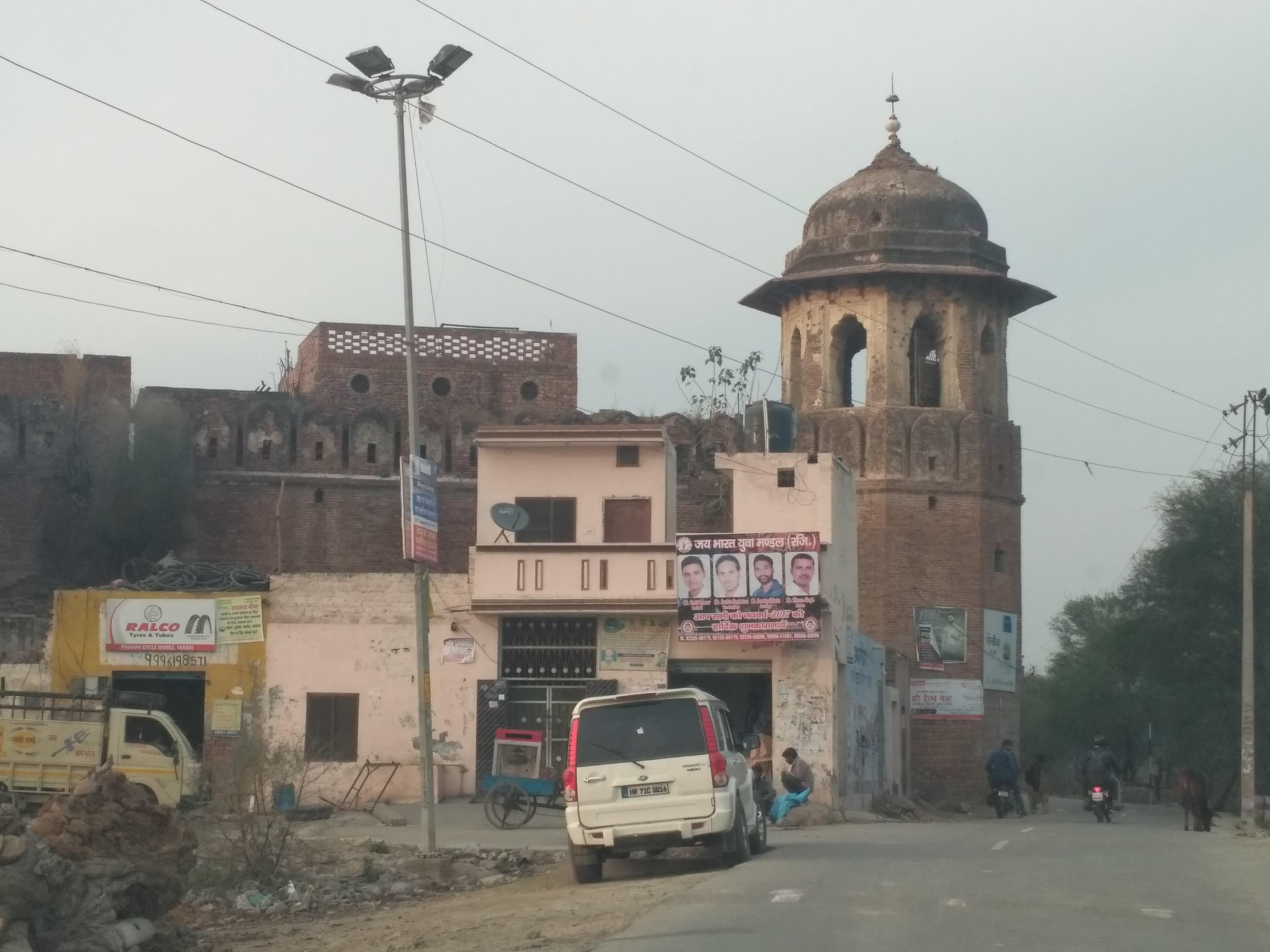 Taraori Prithviraj Chauhans Fort Taraori Karnal Haryanajpeg