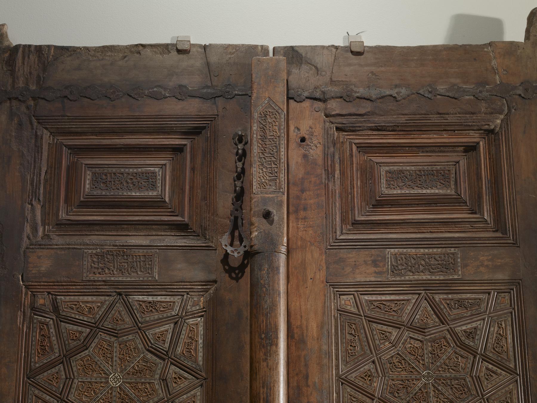 File:Qanbar ibn Mahmud - Mausoleum Doors - Walters 61297 - Detail D.jpg & File:Qanbar ibn Mahmud - Mausoleum Doors - Walters 61297 - Detail ... Pezcame.Com