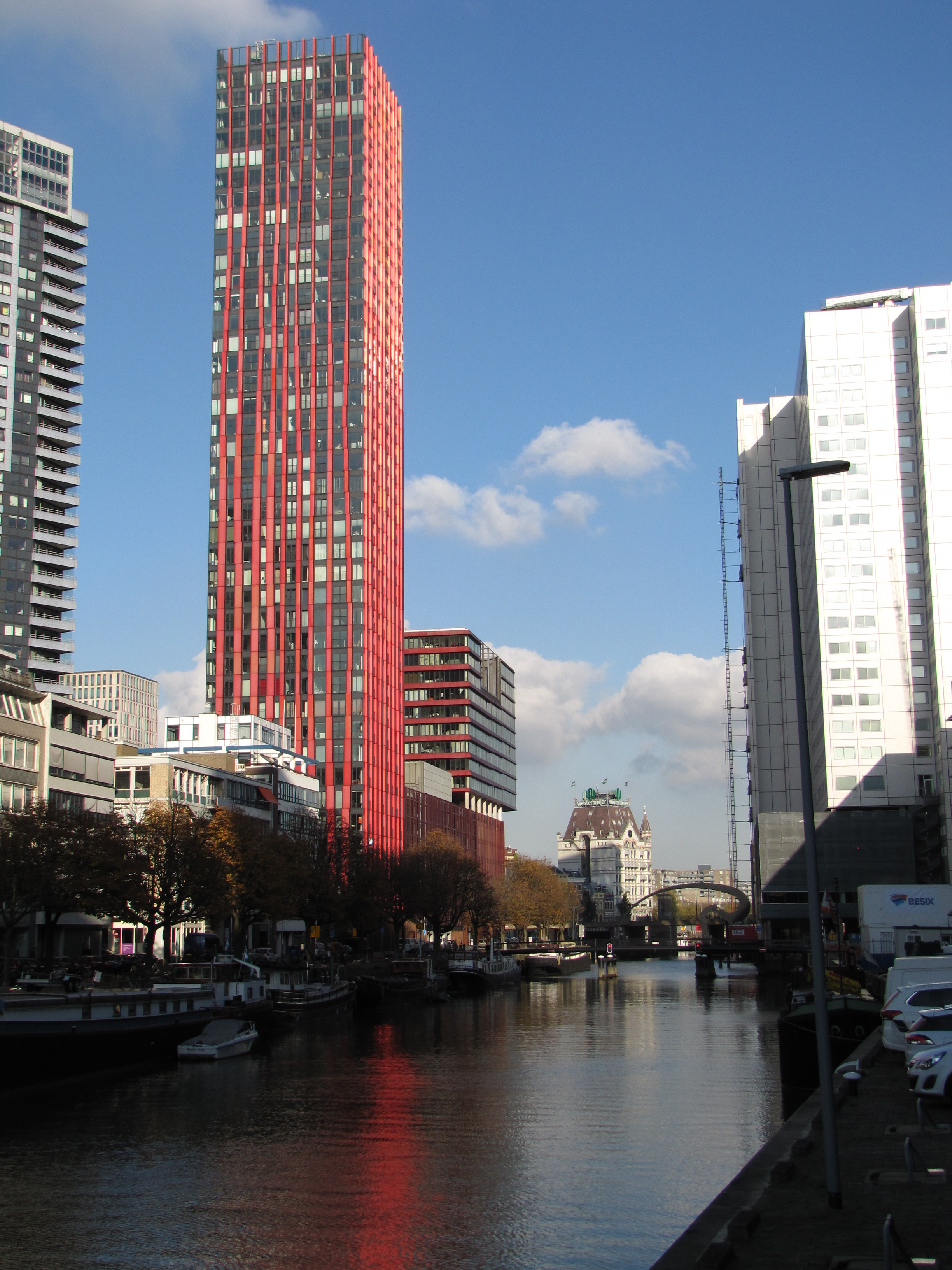 Red, apple tours at, rotterdam 's Day of Architecture fully booked