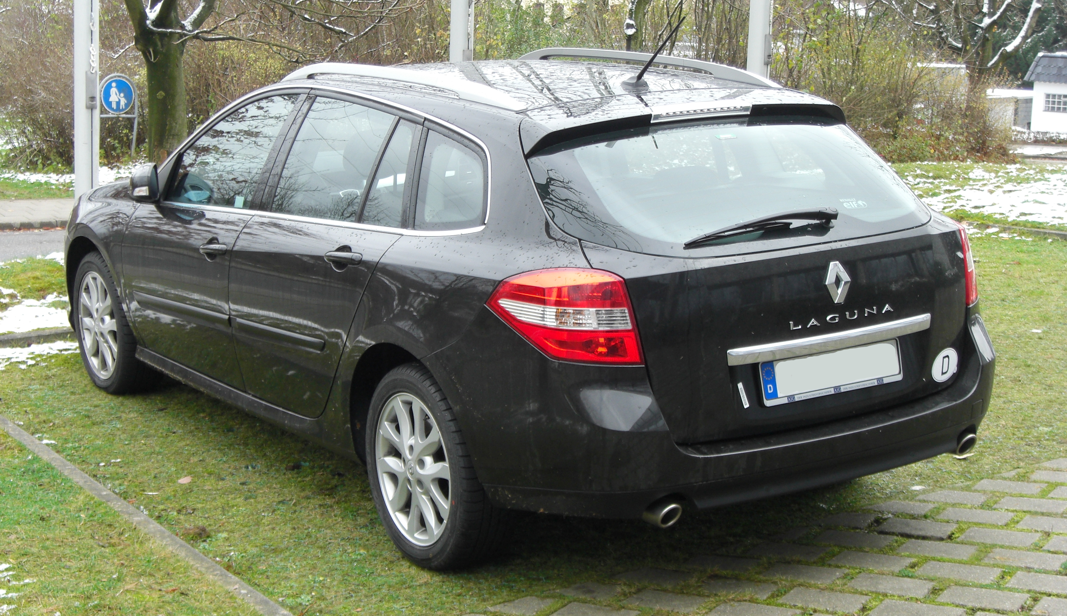 file renault laguna iii grandtour seit 2007 rear 1 mj. Black Bedroom Furniture Sets. Home Design Ideas