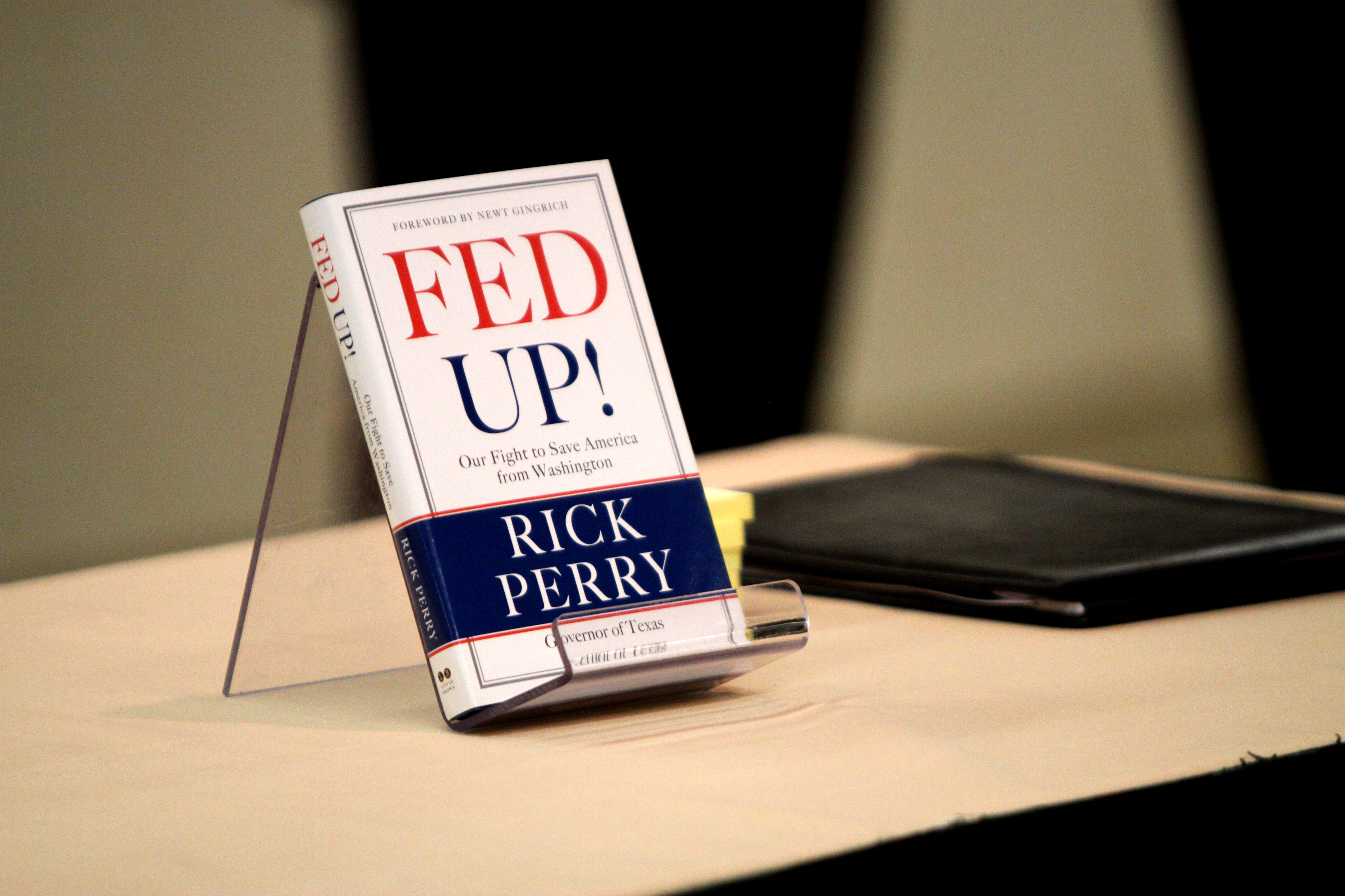 Rick Perry Books