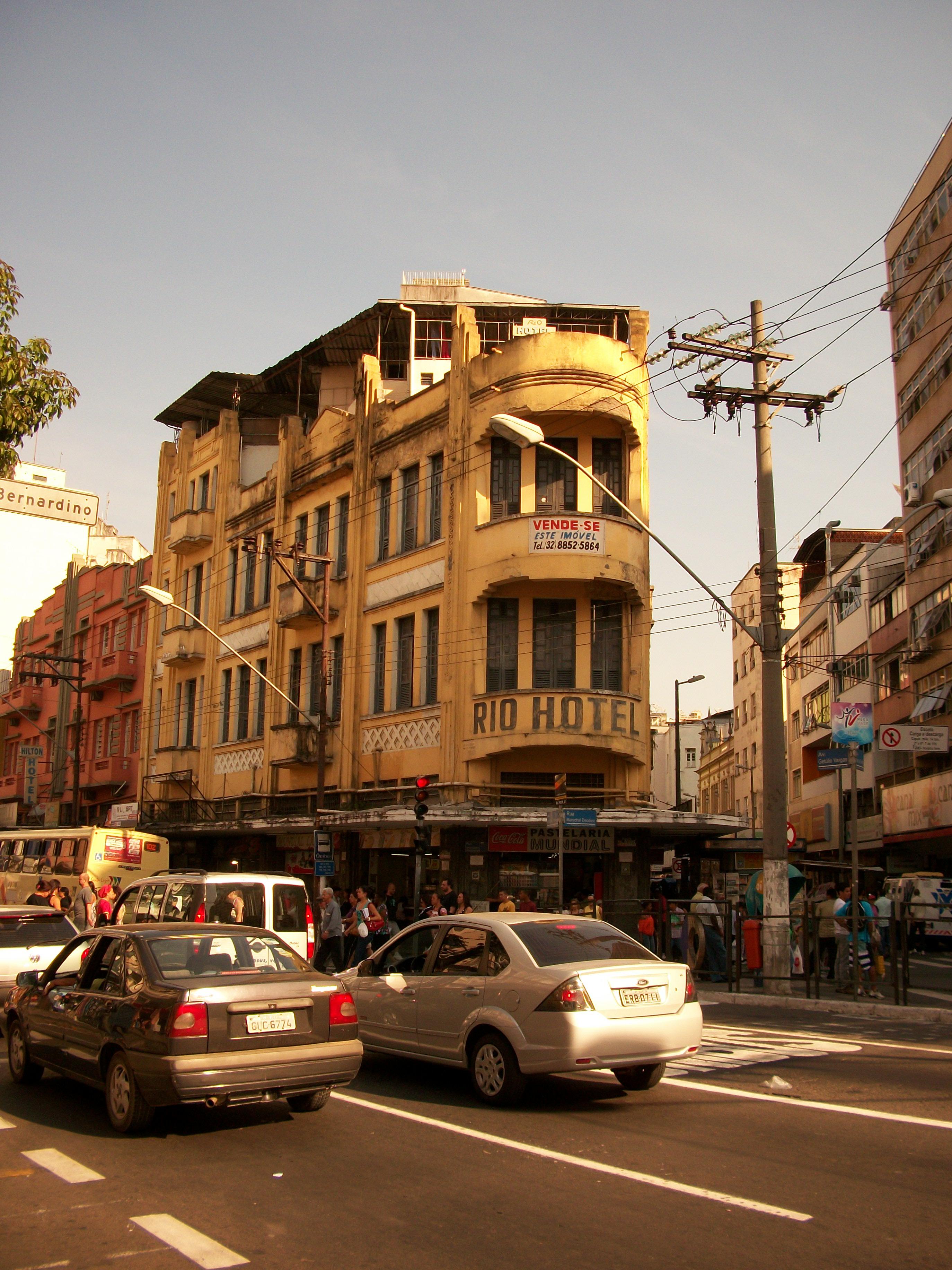 FileRio Hotel Na Esquina Da Avenida Getlio Vargas Com A Rua Batista De Oliveira