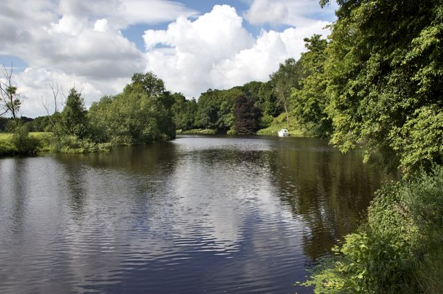 River Tees below Preston Park, Eaglescliffe - geograph.org.uk - 1429507