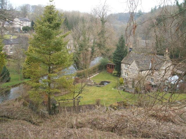 Riverside cottage in Alport - geograph.org.uk - 1184192