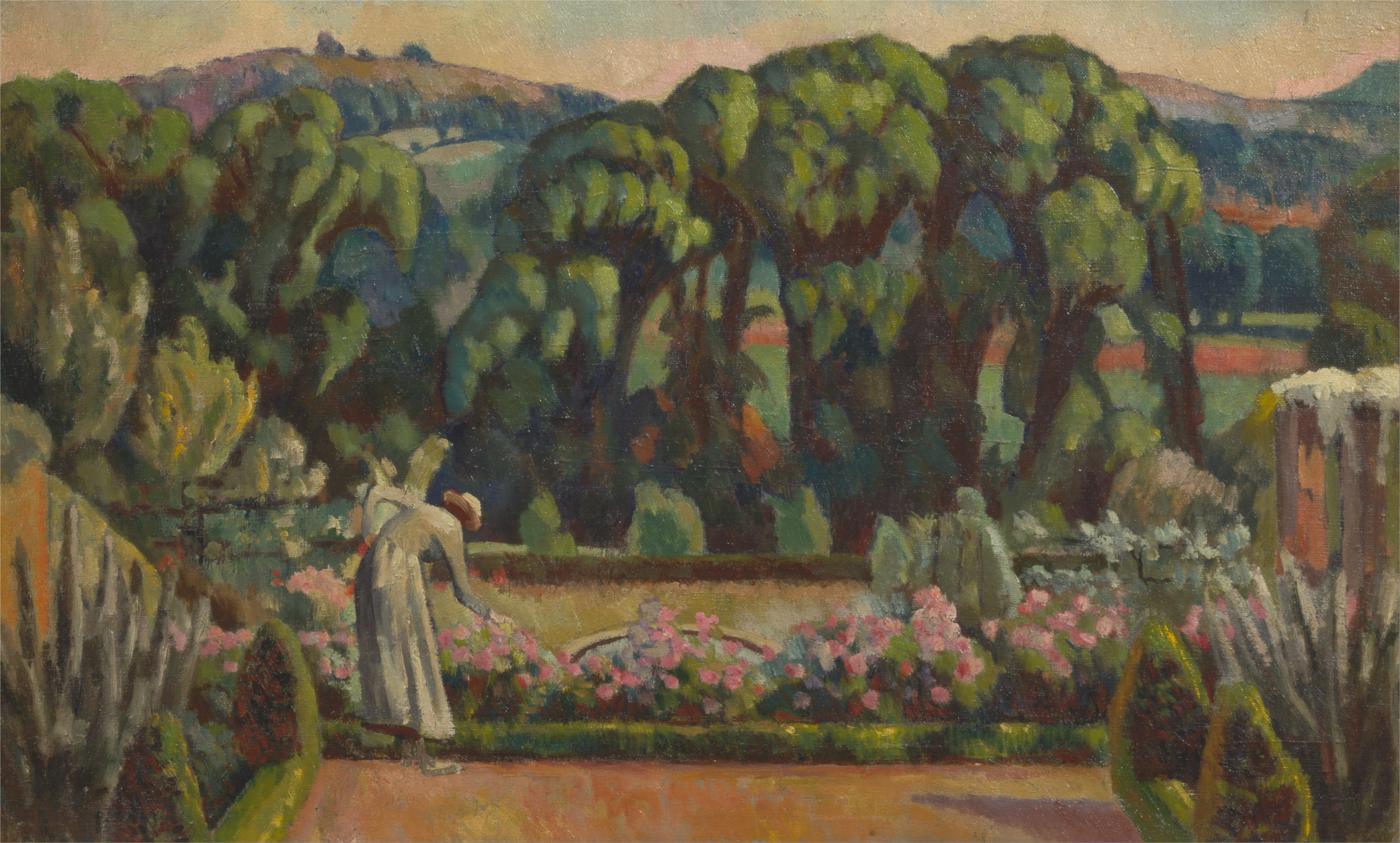 File Roger Fry The Artist S Garden At Durbins Guildford