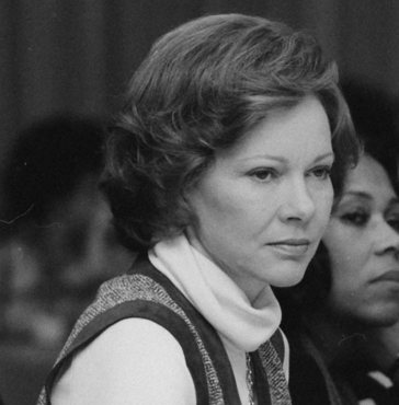 File:Rosalynn Carter chairs mental health hearings - NARA - 177626 crop.png
