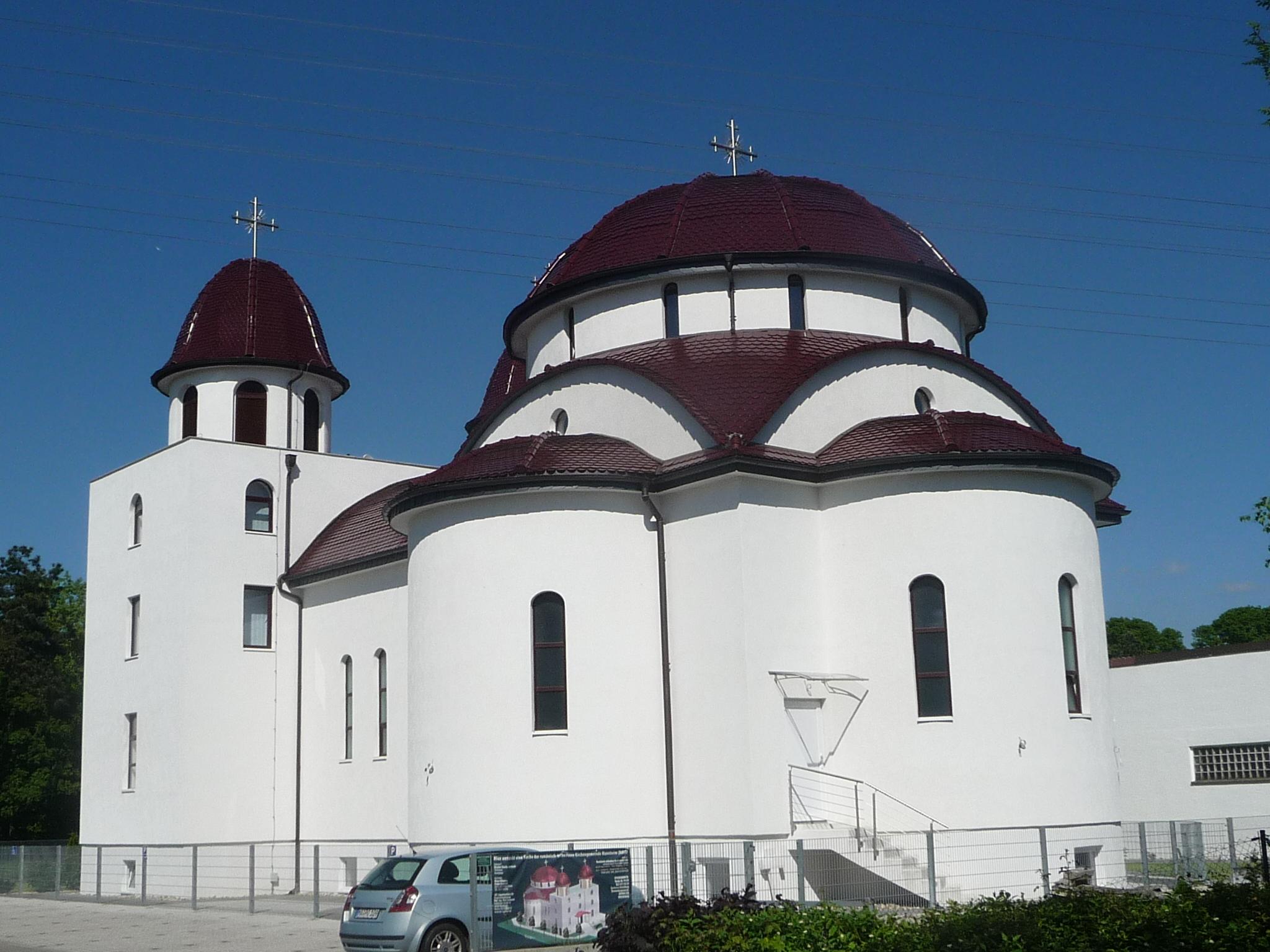 Käfertal kirche mannheim orthodoxe Philippuskirche (Mannheim)