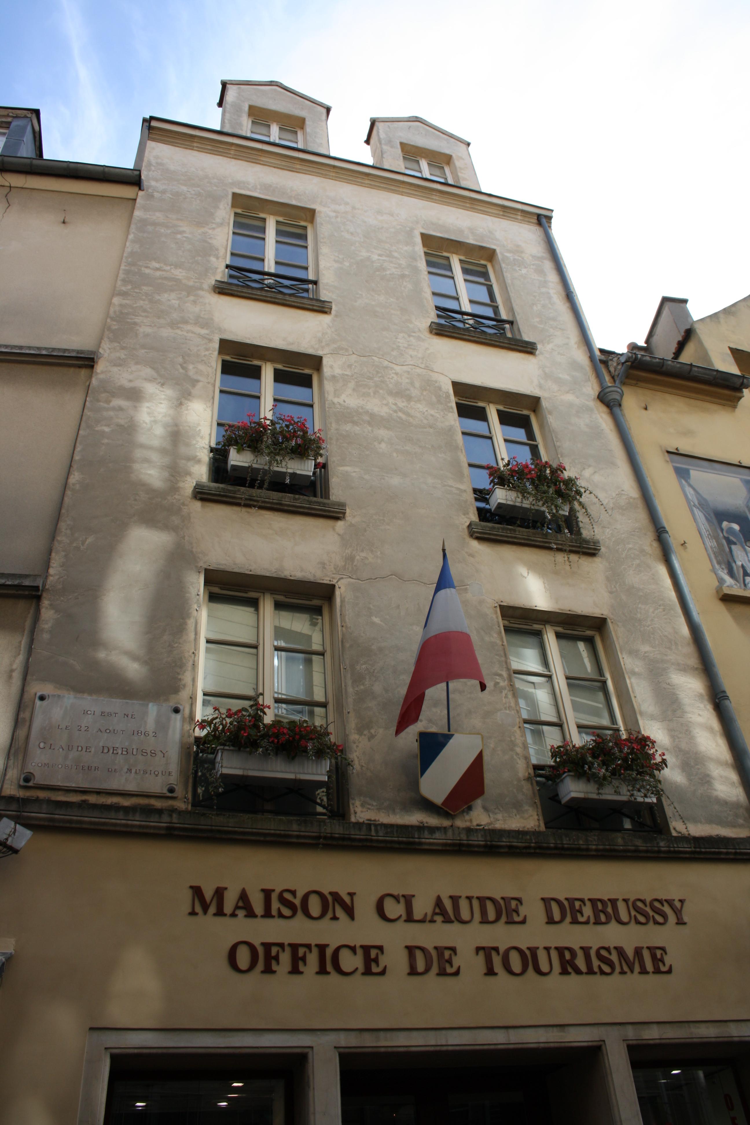 File saint germain en laye maison claude debussy 2011 - Office du tourisme st germain en laye ...
