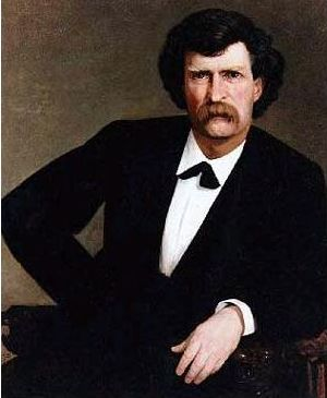 Millet's 1877 portrait of author Samuel L. Cle...