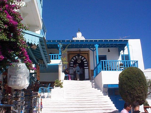 Sidi Bou Said, le balcon de la Méditerranée