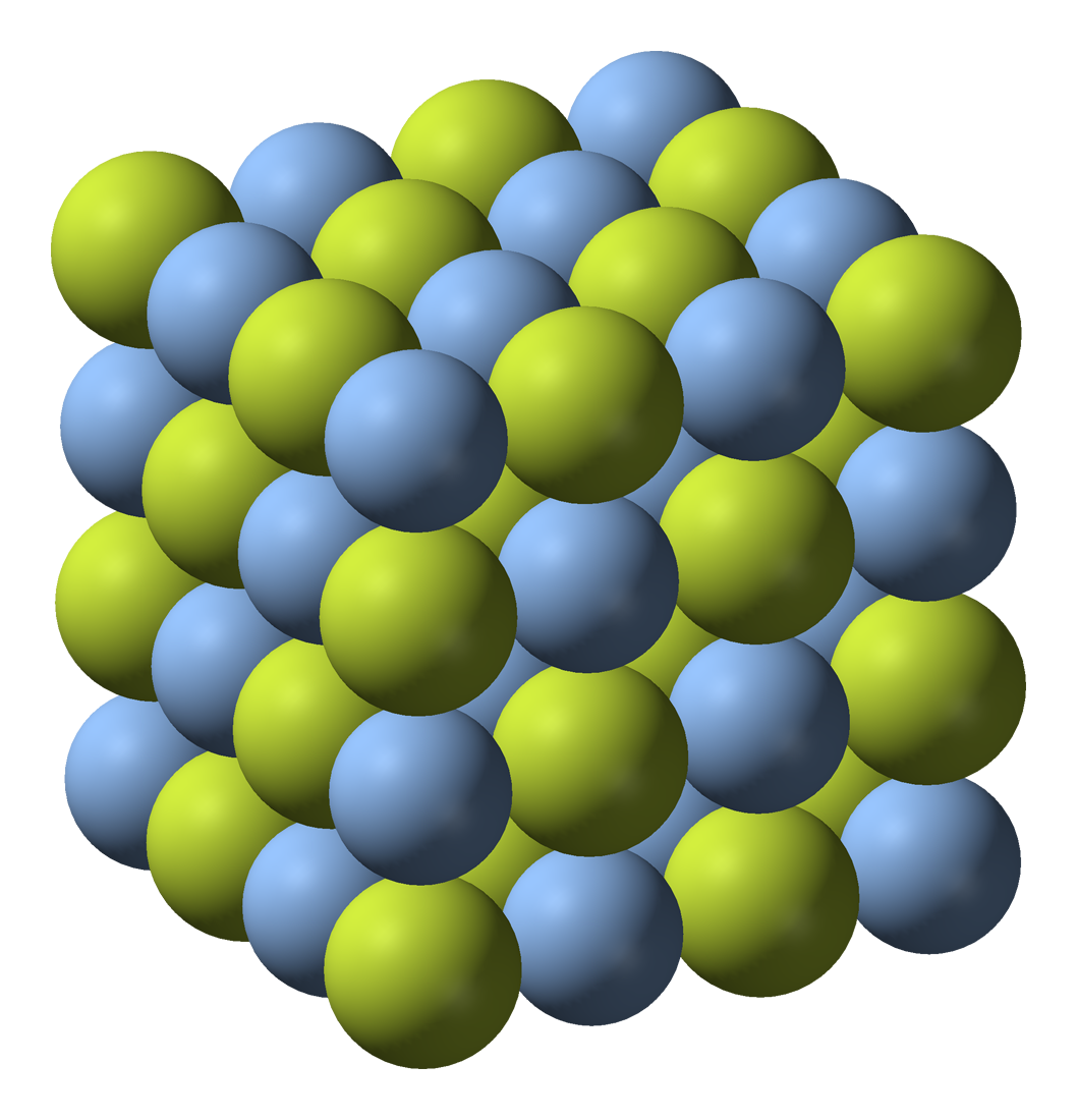 Ionic Compound Model Silver(I) fluoride - W...