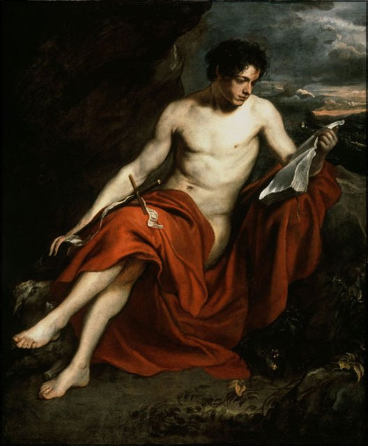 Bible Quotes About St John The Baptist: File:Sir Anthony Van Dyck 'Saint John The Baptist In The