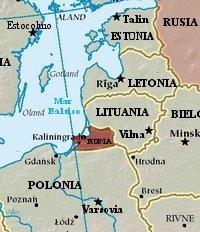 Ubicación de Kaliningrado - Vía Wikimedia.org