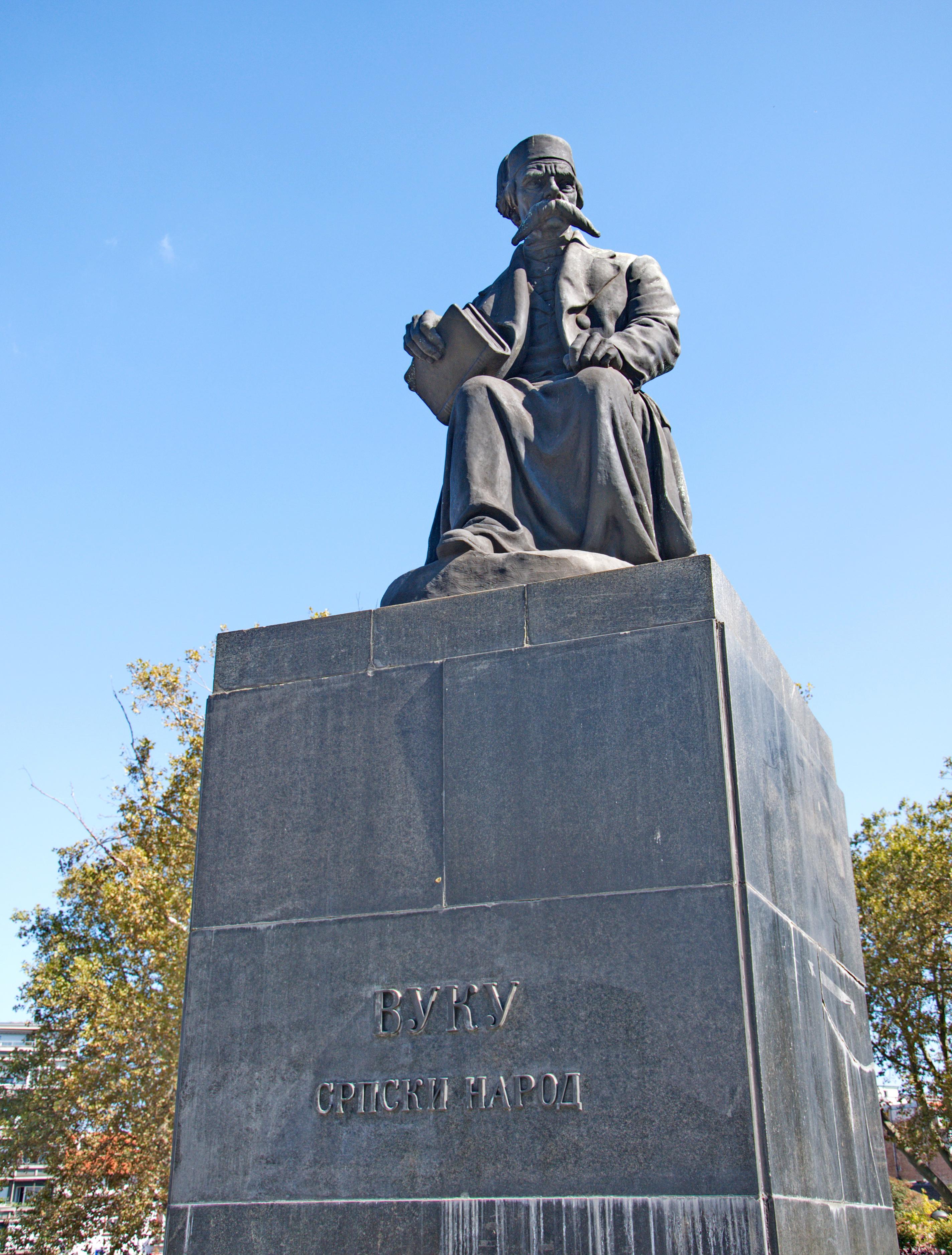 Monument To Vuk Karadzic Wikipedia