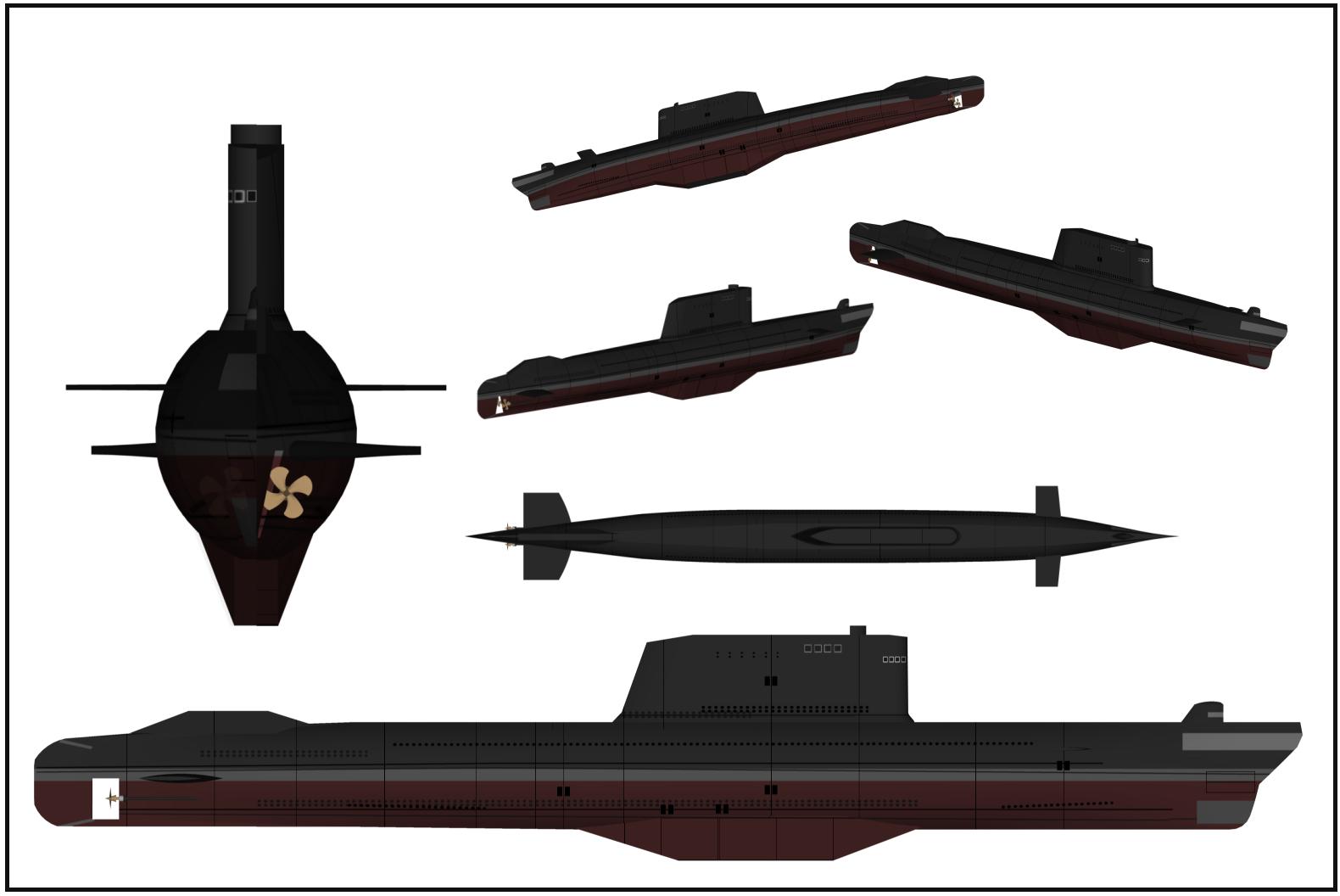 غواصات كوريا الشماليه North Korean submarine Ssb_golfii