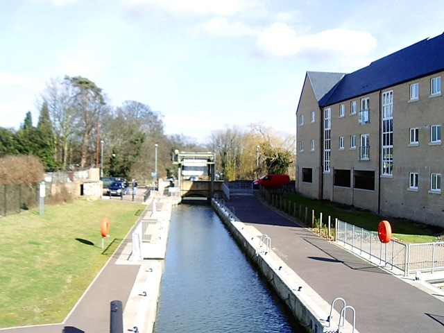 St Neots lock, Little Paxton - geograph.org.uk - 707098
