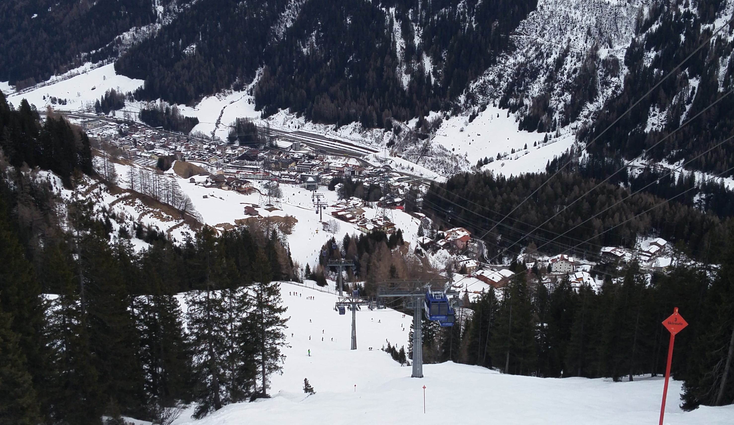 Unterknfte St. Anton am Arlberg: Hotels St. Anton - BERGFEX