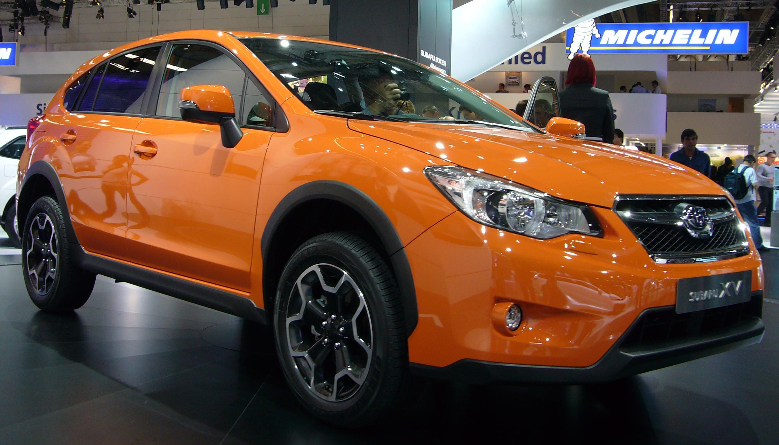 File:Subaru XV (front quarter).jpg - Wikimedia Commons